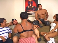 Super Follower Brazilian Orgy with Little Kids